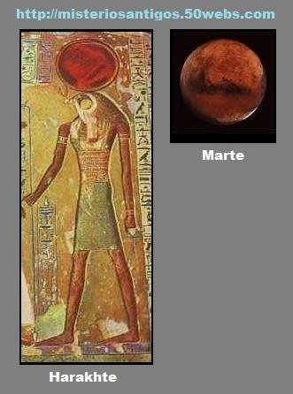 Harakhte e Marte.