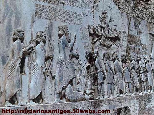 Inscrição de Behistun, de Dario o Grande.