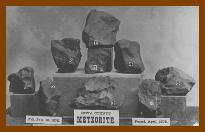 Meteoritos em Iowa, nos Estados Unidos, 1875.