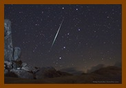 Passagem de meteoro.